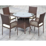 Patio Balcony Furniture Set with Round Table