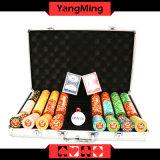 Texas Poker Clay Poker Chip Set; (YM-TZPK001)