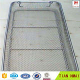 No Sharp Edge Wire Mesh Trays for Medical Sterilizing