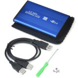 2.5 Inch USB 2.0 HDD Enclosure Case SATA External Storage Box