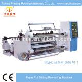 Double Rewinder Jumbo Roll Slitting Machine