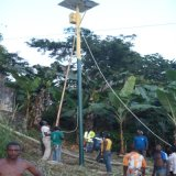 Baode Lights IP66 7m 50W Solar Street Light