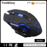Factory Customized 1.5m Braided USB Wired 6D Optical Wired Game Mouse