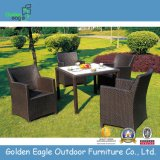 PE Rattan & Aluminum Dining Table Outdoor Furniture (FP0034)