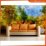 Wholesale Custom Canvas Print on Canvas Peaceful Forest Oil Painting