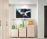 New Design Living Room Wooden 3 Drawers Cabinet (UL-LF012)