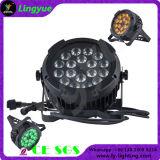RGBWA UV 6in1 Waterproof Outdoor LED PAR Light 18X18W