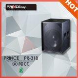 Pr-318 Popular PA System Single 18 Inch Passive Speaker Box for Stage Subwoofer