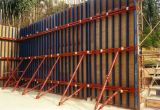 Plywood Face Wallform, Tunnel Form, Column Form Used in Construction Pouring Concrete