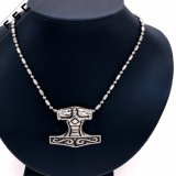 Wholesale Antique Engraved Stainless Steel Punk Style Pendant for Men