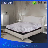 OEM Compressed Sponge Mattress 30cm High with Gel Memory Foam and Knitted Fabric Zipper Cover