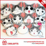 Customized Mini Cat Animal Plush Stuffed Bag Toy Key Chain Coin Purse