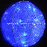 25cm LED Christmas Decoration Ball Outdoor Light From Factory