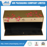 Simple Graceful Luxury Paperboard Red Wine and White Spirit Packagings Boxes