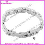 Stainless Steel Men′s Bracelet Ashes Urn Bracelet Men′s Jewelry