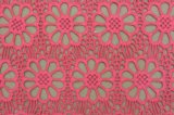 Colorful Cotton Embroidery Lace Fabric From China E10009