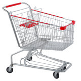 American Style Shopping Trolley Cart for Supermarket