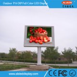 High Brightness Outdoor P16 DIP Fixed LED Display Panel