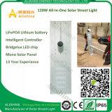 120 Watt Integrated Solar Street Garden Lights for Farm & Ranch