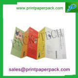 Colorful Art Paper Folding Paper Brochure