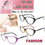Fashion Cat Eye Acetate Eyeglass Frame Designer Eyewear Glasses with Ce and FDA