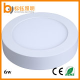 2700-6500k 6W Round LED Surface LED Panel Ceiling Down Lamp