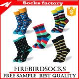 Wholesale Combed Cotton Business Socks Custom