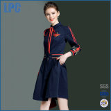 New Design Embroidery Casual Women Dress