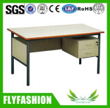 Simple Popular Office Teacher Computer Desk with Drawer