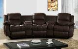 Modern Living Room Leather Recliner Massage Sofa (UL-NS411)