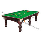 Professional Snooker Table for Racing Solidwood Pool Table