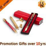 Custom Elegant Perfume Roller Ball-Point Pen with Gift Box (YT-1501)