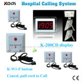 Ce Approved Ycall Brand 433MHz Hospital Buzzer Call System