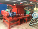 Industry Double Shaft Shredder, Large Capacity Hard Plastic Cutting Machine, Recycling Station