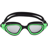 High Quality Silicone Swim Goggles with Anti-Fog, UV Protective