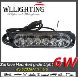 6W Traffic Warning Auto Zone Strobe Light