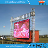 Die Casting Aluminum P4 Outdoor Mobile LED Rental Screen