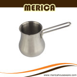 Long Handle Stainless Steel Milk Pitcher