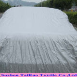 100% Poly Taffeta with Silver Coated for Car Cover