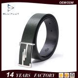 Custom Logo Buckle Belt Genuine Leather Men′s Waist Belt