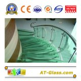 6.38mm Tempered Safety PVB Laminated Building Glass