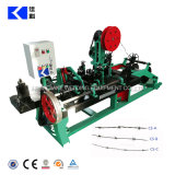 Single Twisted Barbs Wire Making Barbed Wire Machine