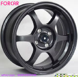 "15"" Aluminium Rims Car Alloy Wheel in Black"