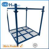 Warehouse Foldable Steel Stacking Tire Rack Storage System