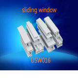 UPVC Profile White Color Sliding Window