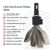 9006 60W 9600lumens Philips LED Headlight Kits for Car