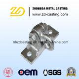 OEM Zinc Plated Cast Iron Lost Wax Casting Brackets