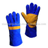 Leather Welding Gloves Reinforcement