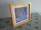 Classic Wood Picture Frame, Natural Wood Color Wood Photo Frame