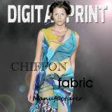2017 Women′s 100% Digital Printed on Chiffon